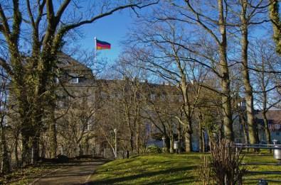 Jahrhundertelang zogen an Pilger an kirchlichen Feiertagen hinauf zum Petersberg.