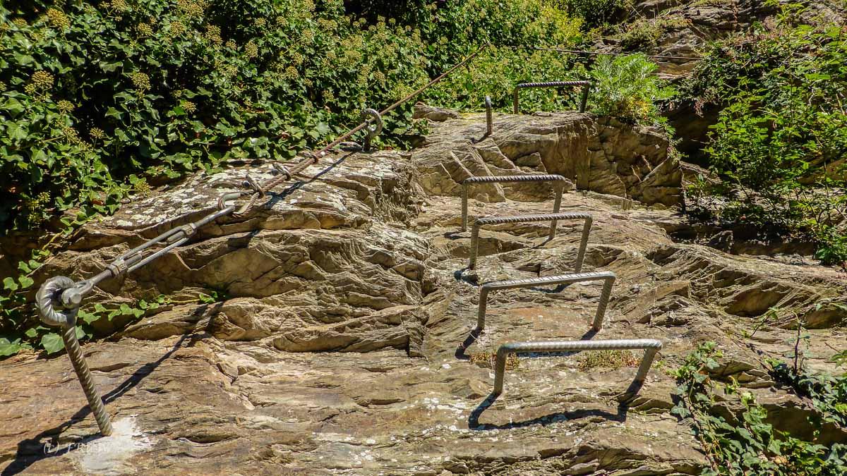 Calmont Klettersteig Unfälle : Leichte klettersteige in deutschland fotografische reisen und