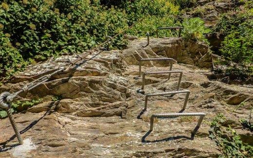 Klettereisen im Fels