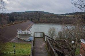 Stauanlage Kronenburger See