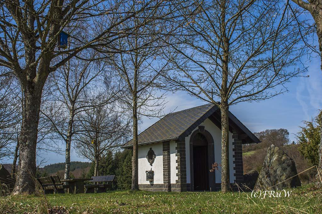 Panoramaweg Kirchwald - Kandidat Premiumweg- Hier am Heiligenhäuschen
