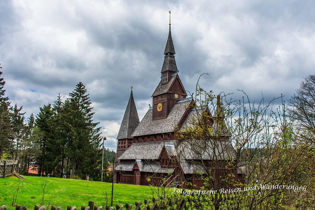 Liebesbankweg - Premium Wandern Harz - Holzkirche