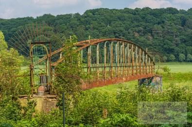 Brücke für Rohrleitungen