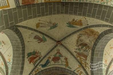Deckenmalerei Bonte Kerke Lieberhausen