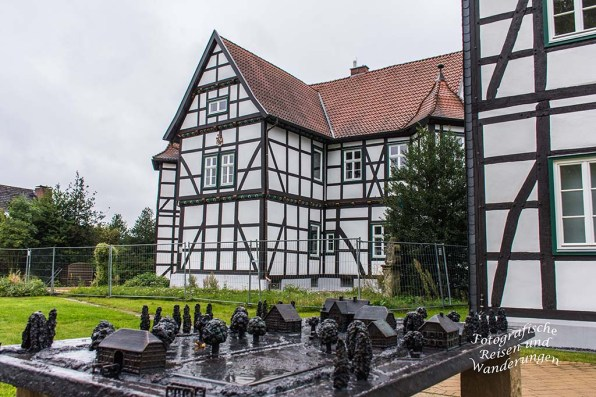 Bronzemodell Sennegemeinde Hövelhof