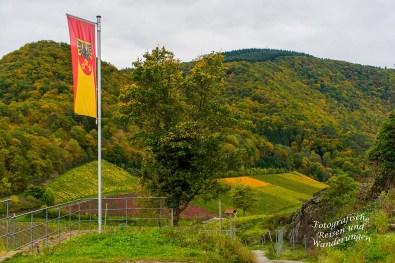 Die Fahne an der Saffenburg