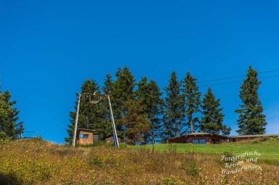 Skilift an der Schwedenhütte am Altlastenberg