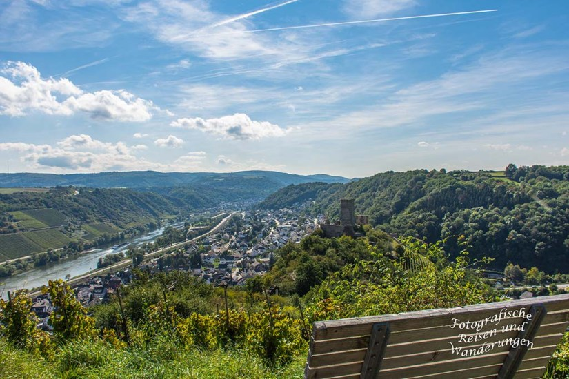 Blick auf Kobern-Gondorf