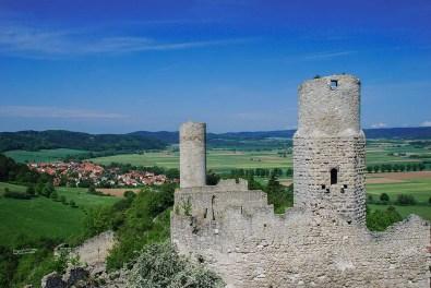 Burgruine Brandenburg - Burg und Umgebung - Rundblick