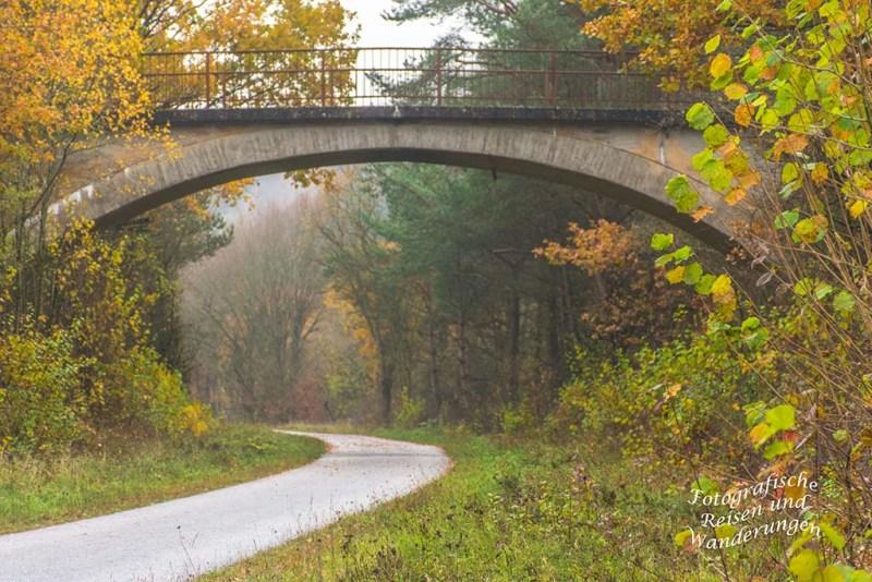 Brücke Richtung Ahütte