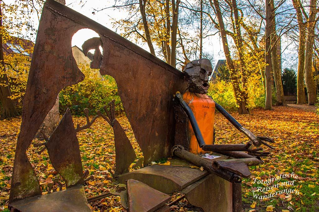Skulptur Schlosspark Stammheim