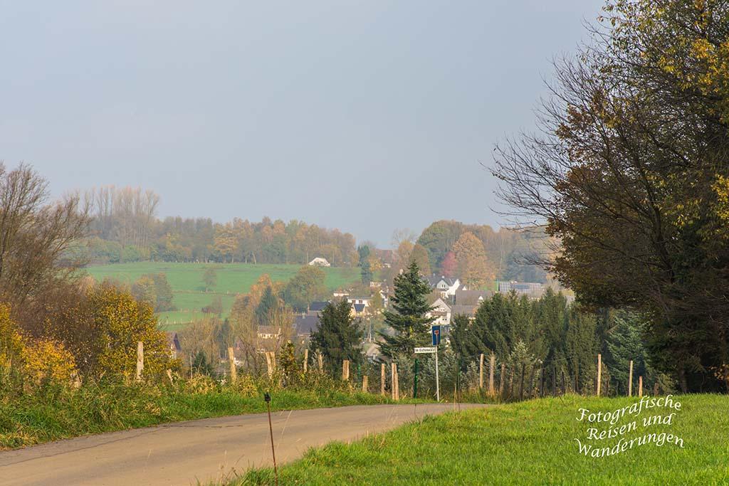 Herrliche Herbststimmung Bierenbachtal - Turm Route