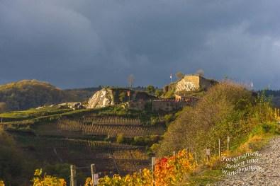 Blick zurück auf die Saffenburg.