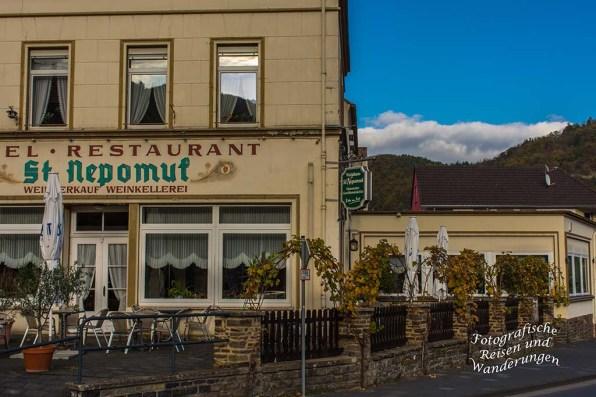 Restaurant St. Nepomuk in Rech - Lecker Kuchen und Kaffee gibt es dort