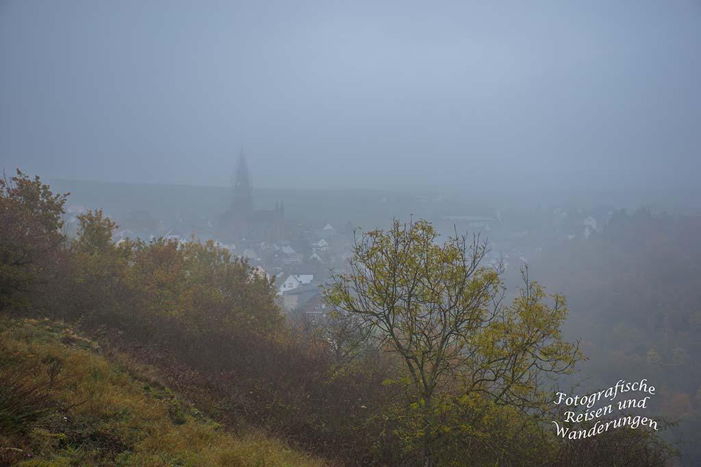 Nebelverhangener Blick Welling