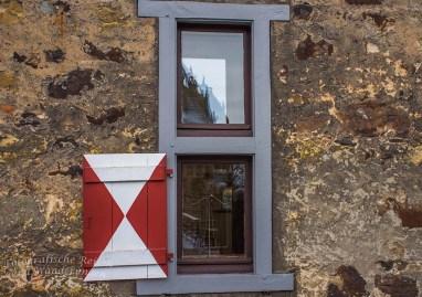 Burg Vischering- Detailaufnahme Fenster