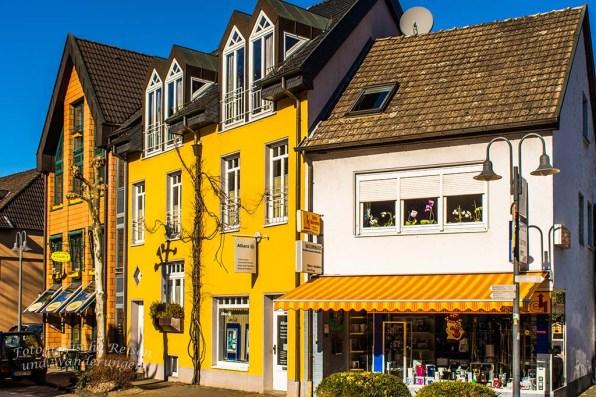 Heimbach hat bunte Häuser