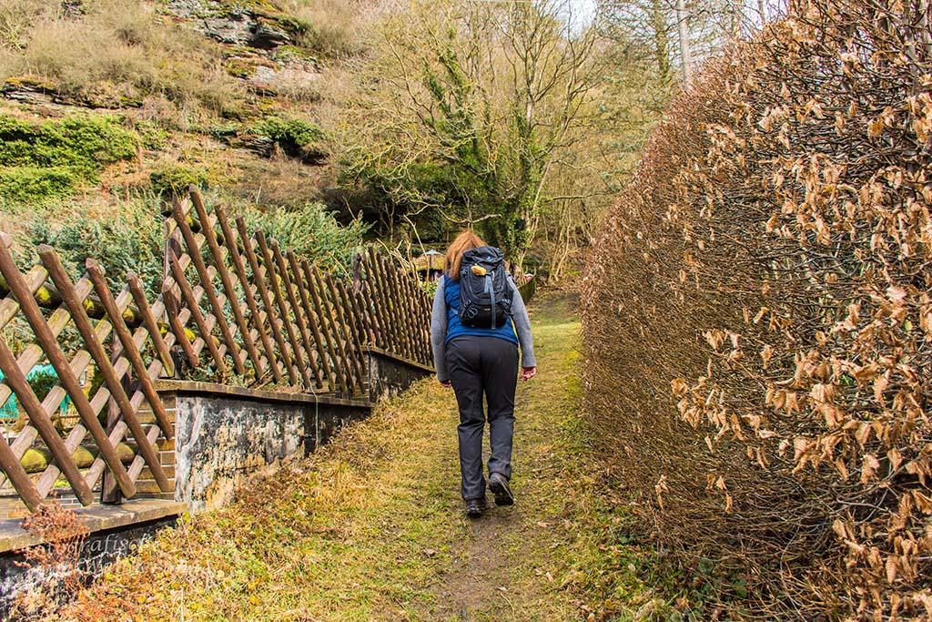 Auf dem Weg zum Steinerberg