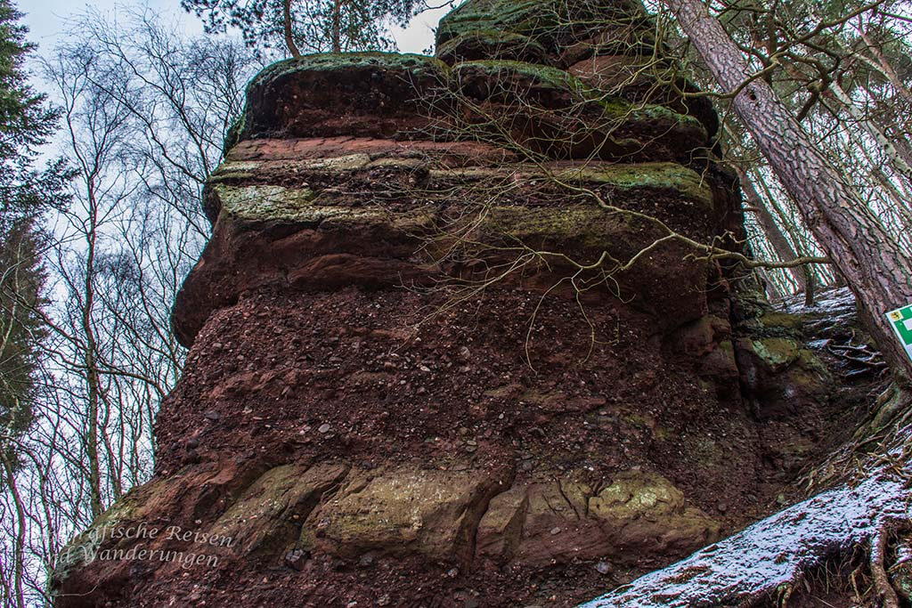 Sonne und Felsen für die Wanderschnecken
