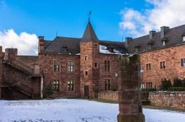 Innenbereich Burg Nideggen
