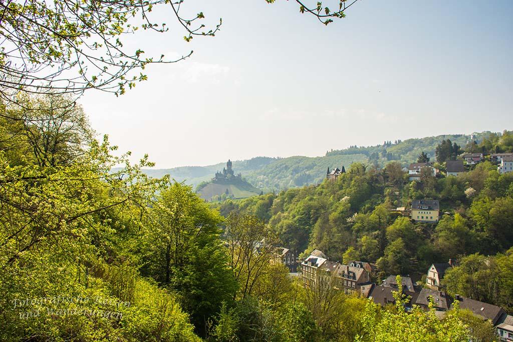 Blick auf die Reichsburg Cochem