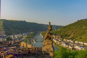 Blick auf die Mosel in Cochem