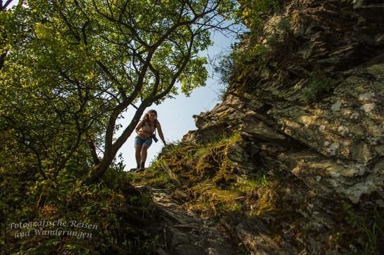 Runter klettern ist immer problematischer als rauf