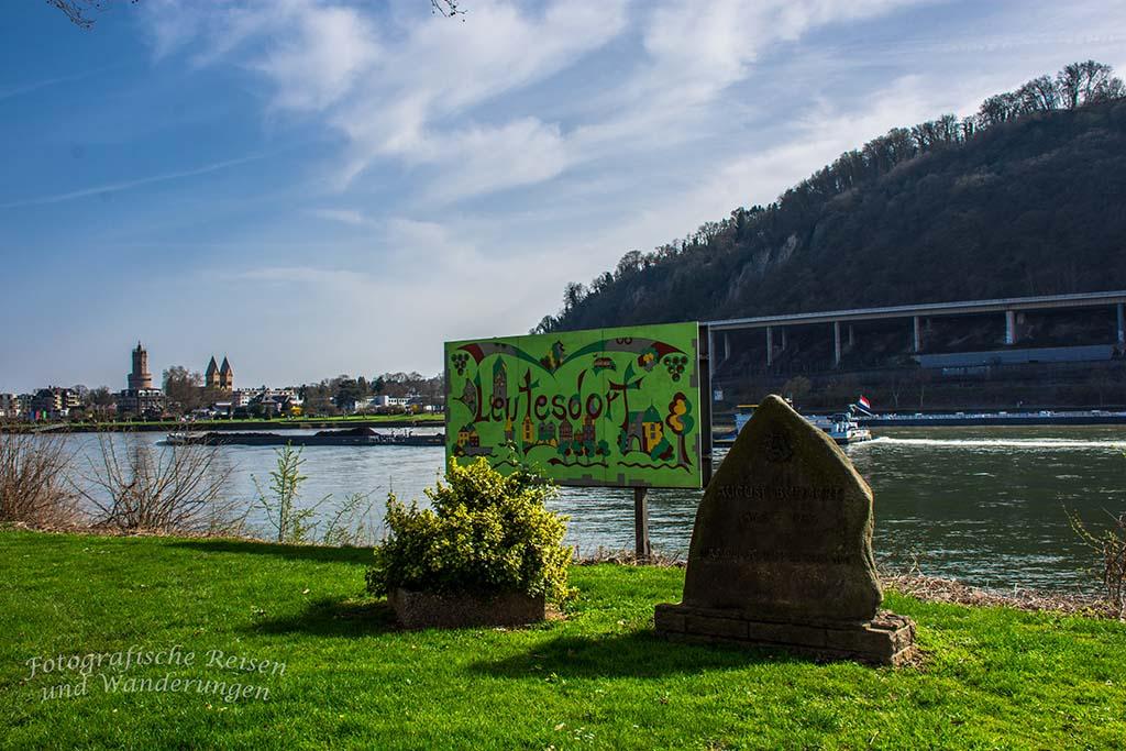 Rheinsteig von Rheinbrohl nach Leutesdorf
