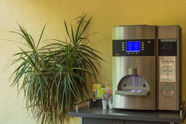 Kaffeeautomat in der Eingangshalle