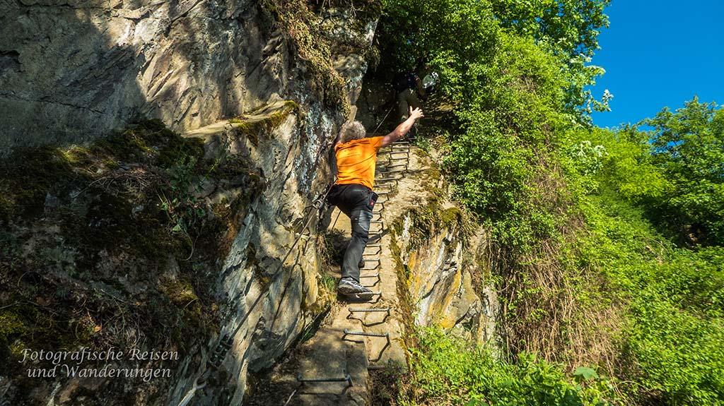 Klettersteig Pfalz : Bremm mosel calmont klettersteig foto bild deutschland