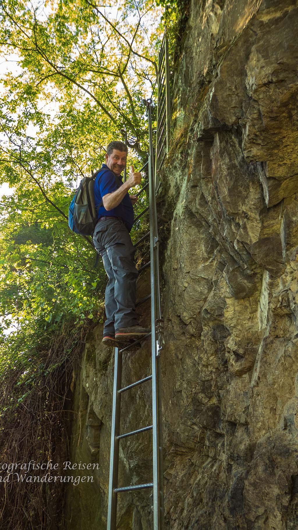 Klettersteig am Mittelrhein