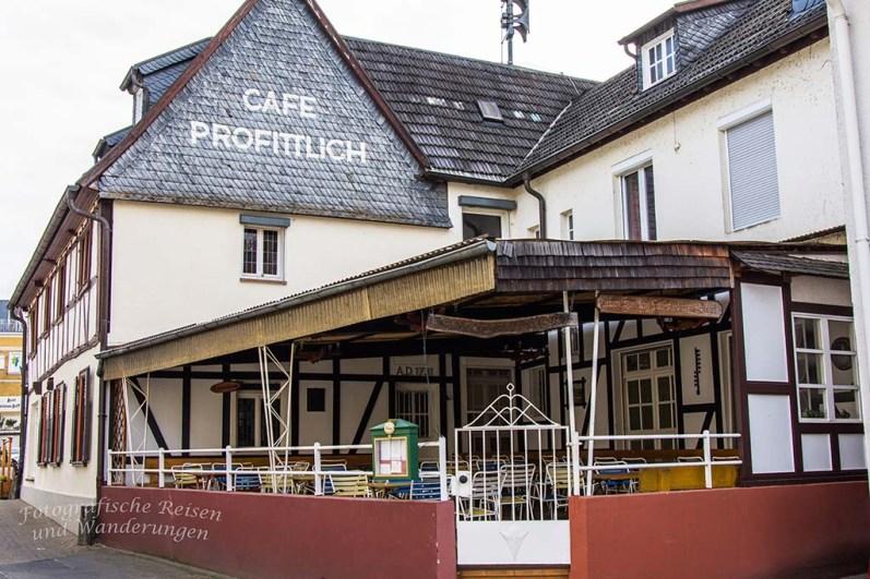 Durch Rhöndorf spaziert, Cafe Profittlich