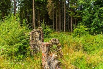 Tor der Ruine Oberhof
