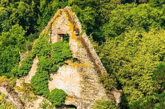Giebel eines Wohnhauses Burg Sayn