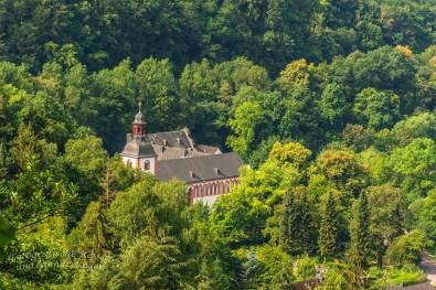 Blick auf Abtei Sayn