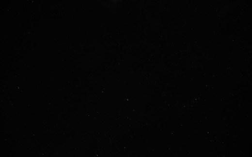 Die Stille am Raßberg - Sternenhimmel