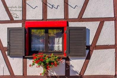 Das sanierte Fachwerkhaus in Wershofen