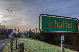 Ortsschild von Schaffeld