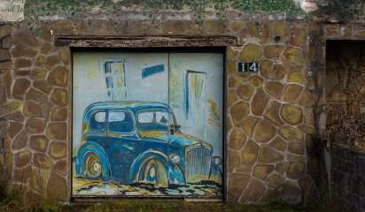 Tolle Garagenmalerei