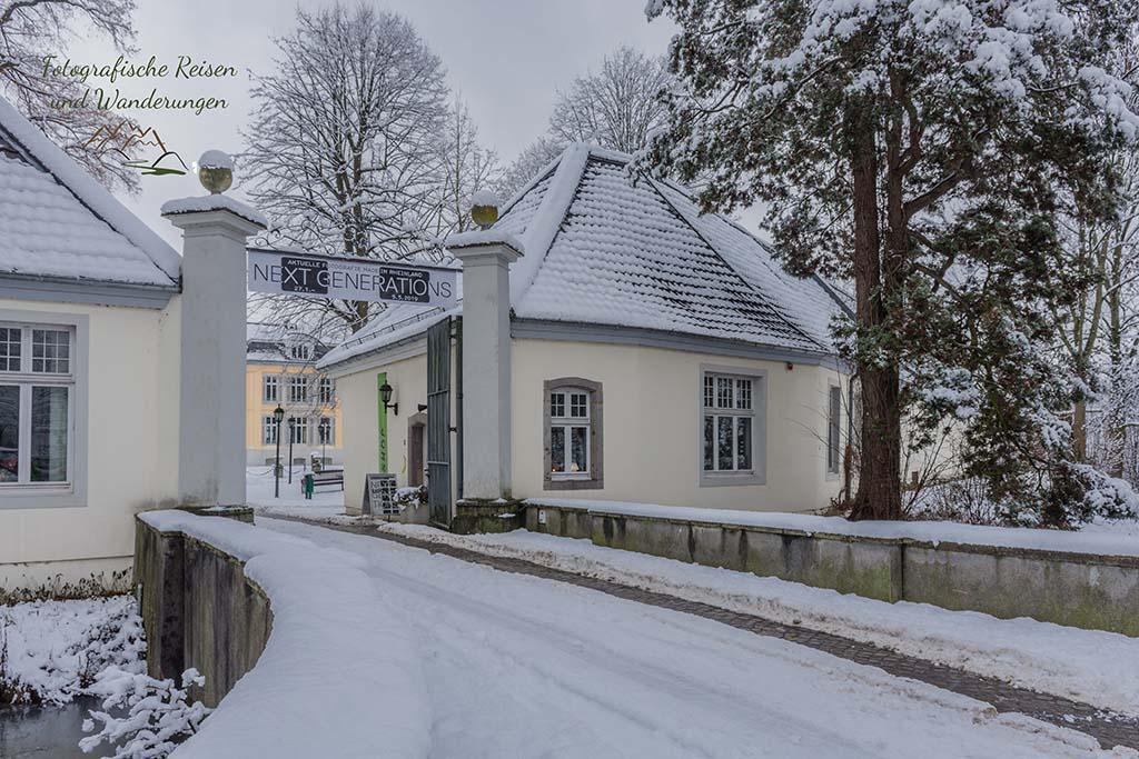 Zugang Schloss Morsbroich