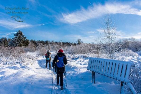 Schneewanderung in Muetzenich (40)