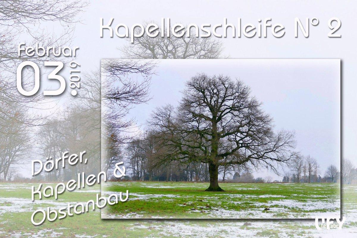 Dörfer- Kapellen und Obstanbau - Cover Foto