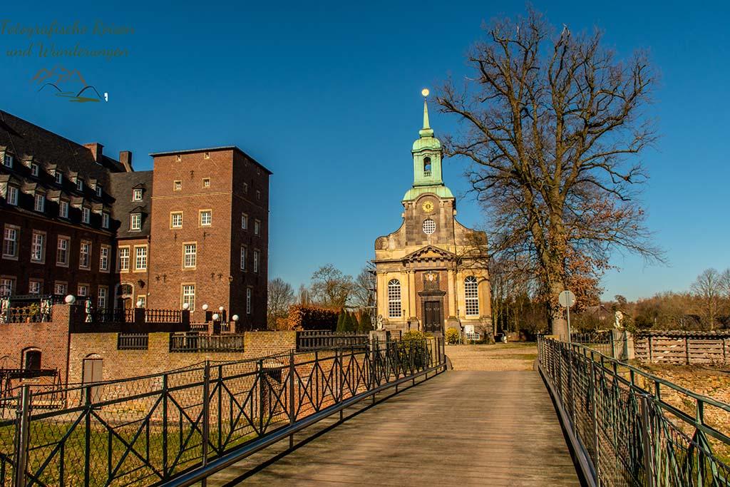 Schlosskirche und Schloss Diersfordt