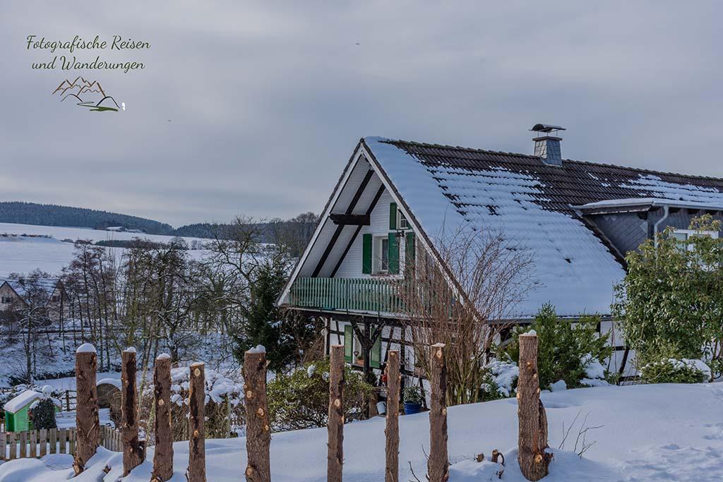 Fachwerkhaus - Wandern um das Freilichtmuseum Lindlar