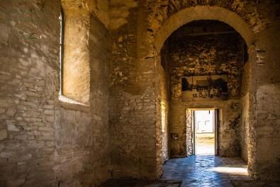 Das Innere der Kirche von Wollseifen