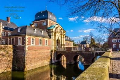 Bogenbrücke Schloss Ahaus - Wanderungen für die Seele - Münsterland