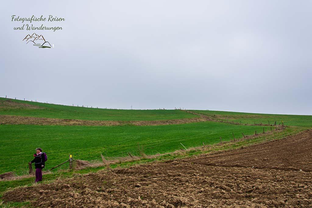 Ackerflächen auf dem Bergischen Panoramasteig