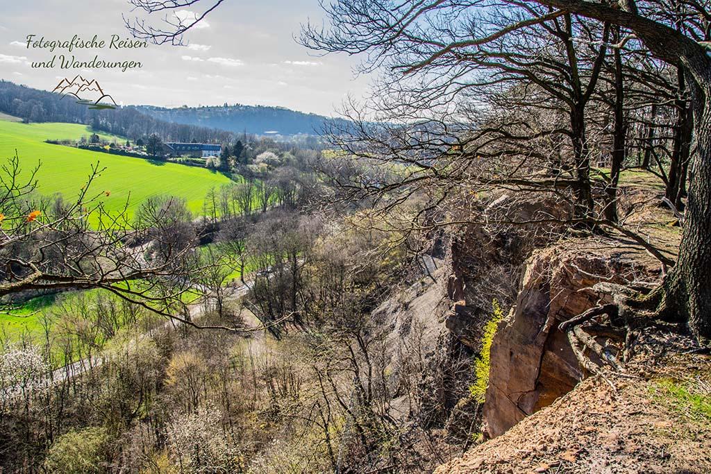 Steinbruch Dünkelberg von oben