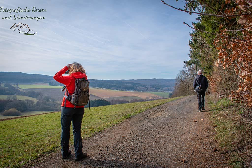 Weit gucken können ,auf der Wäller Tour Elberhöhen