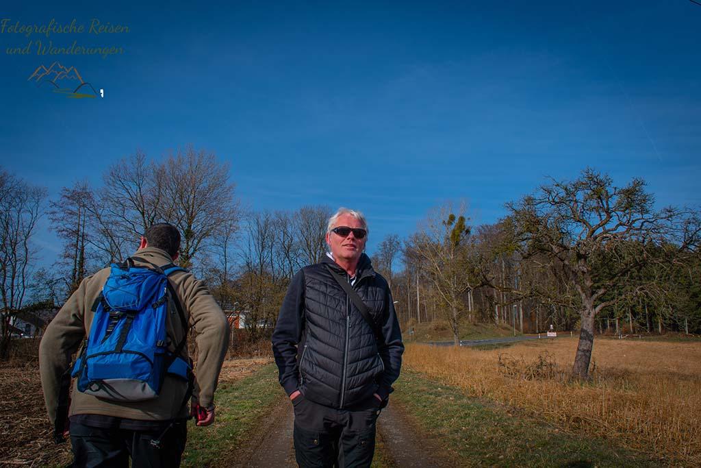 Markus und Winni auf der Wäller Tour Elberthöhen